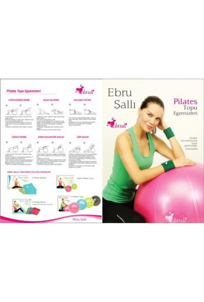Ebruli Anti burst 75 Pilates Topu