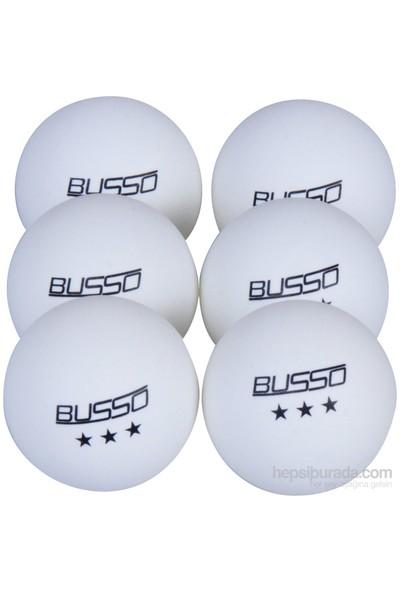Busso Bs BS23121 Pinpon Topu 6'Lı