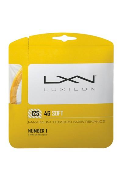 Luxilon 4G Soft 1.25 Set Tekli Raket Kordajı