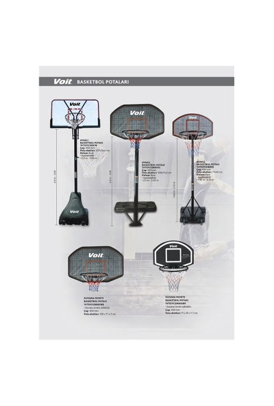 Voit CDB003 Ayaklı Basketbol Potası