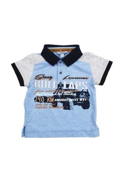 Zeyland Erkek Çocuk Mavi Polo Yaka T-Shirt K-51M501bdh53