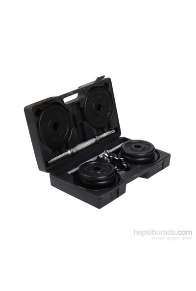 Busso SDS-15 Kg Çantalı Siyah Döküm Ağırlık Set