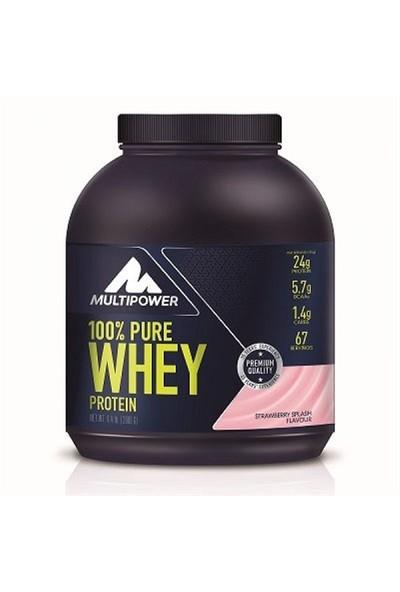 Multipower 100 % Whey Protein 2000 Gr Çilek + Shaker