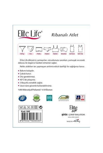 Elite Life Dikişsiz Body Ribanalı Kadın Atlet | 848