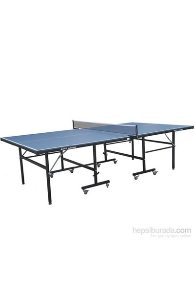 Delta Elegance Mavi Masa Tenisi Masası +2 Raket +3 Top + Ağ-Demir