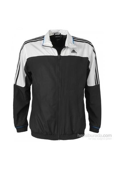 Adidas G88189 Rsp Ts Jacket Erkek Tenis Ceket Sezonsonu Beyaz-Siyah