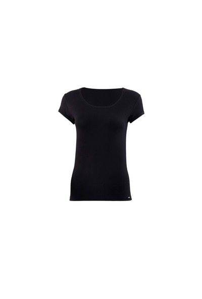 Blackspade Silver Kadın T-Shirt 1622 Siyah