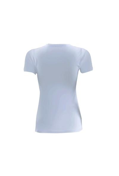 Blackspade Essential Kadın T-Shirt 1701 Beyaz