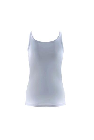 Blackspade Comfort Kadın Atlet 1548 Beyaz