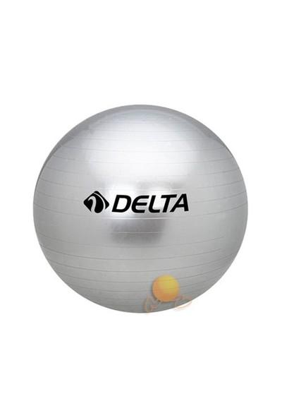 Delta 65 cm Silver Dura-Strong Pilates Topu
