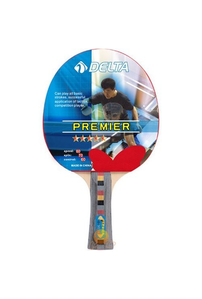 Delta Premier Masa Tenisi Raketi (Pinpon Raketi)