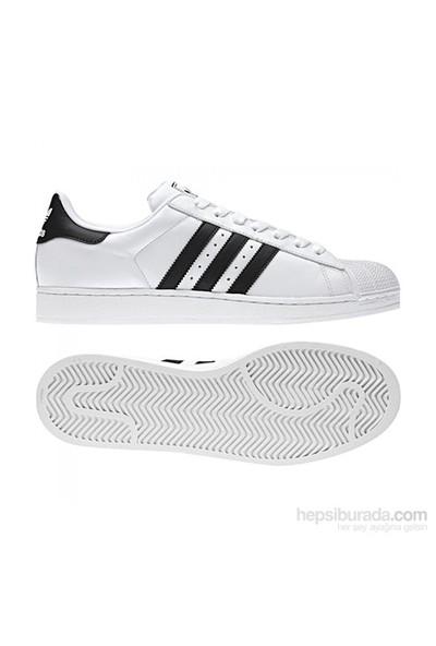 Adidas G17068 Superstar Iı Unisex Orıgınals Ayakkabı Beyaz-Siyah