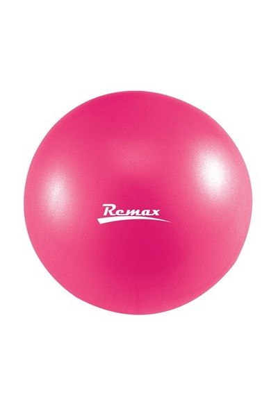 Remax Fuşya 30 cm Pilates Denge Çalışma Topu Mini Egzersiz Topu