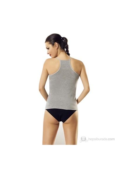 Namaldı 288 Kadın Likralı İp Askılı Arkası Çapraz Body Atlet