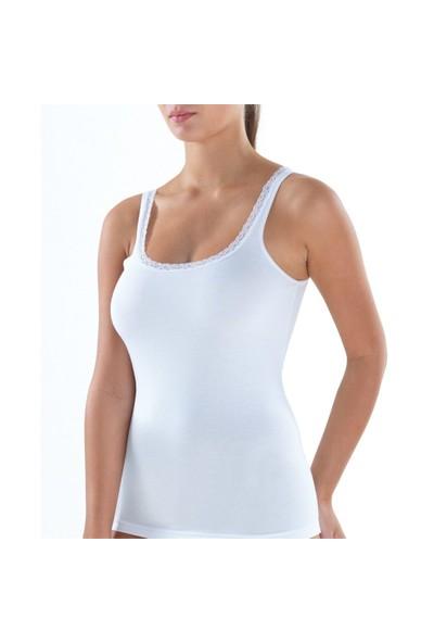 Blackspade Comfort Elegance Kadın Atlet 1364 Beyaz