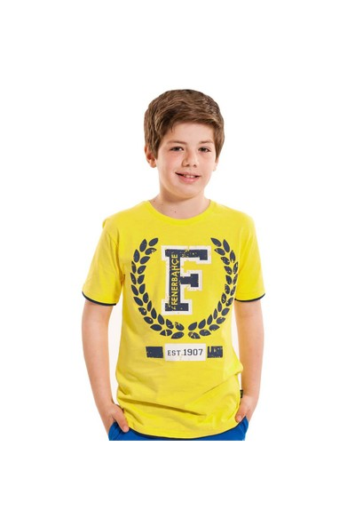 Fenerium Çocuk Kolej F Logo T-Shirt
