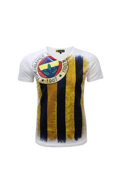 Fenerium Erkek Tribün 6 Renk Logolu T-Shirt