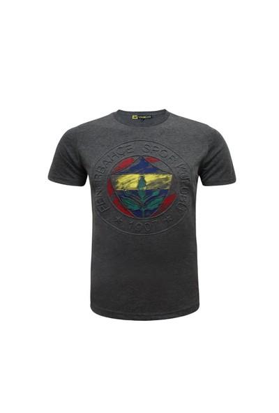 Fenerium Çocuk Tribün Emboss Logo T-Shirt