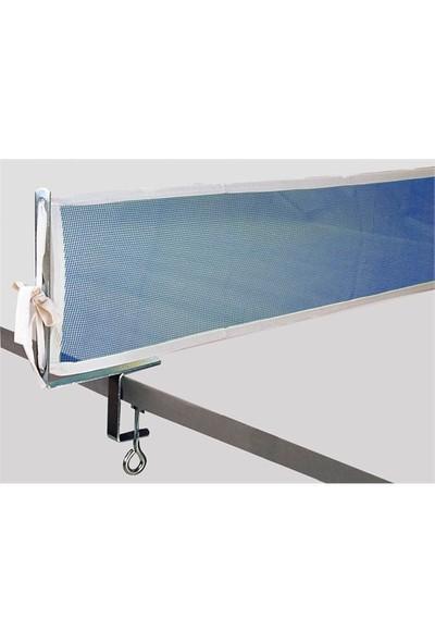 Delta Mavi Masa Tenisi Mengeneli Pinpon Ağı File Demir Seti