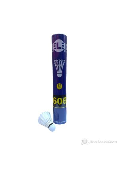 Selex 606 Badminton Topu Kaz Tüyü 12'Li