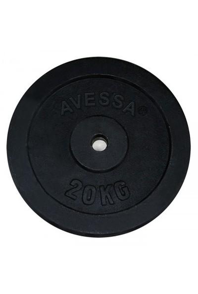 Avessa 20 Kg Siyah Döküm Plaka