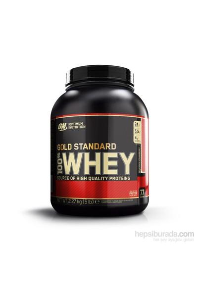 Optimum Gold 100% Whey Gold Std - Strawberry, 5 lbs/2270 gr Multi-lingual