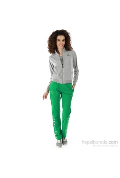 Kappa 1 302XOB T07L Bayan Kadın Raşel Eşofman Altı Yeşil