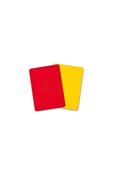 California Sport Hakem Kartı (Sarı-Kırmızı)