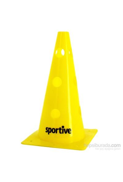 Sportive 12 Trafik Kulesi Delikli Sarı