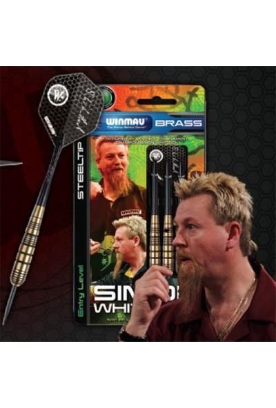 Winmau Simon Whitlock Brass Plastik Uçlu Elektronik Dart Oku