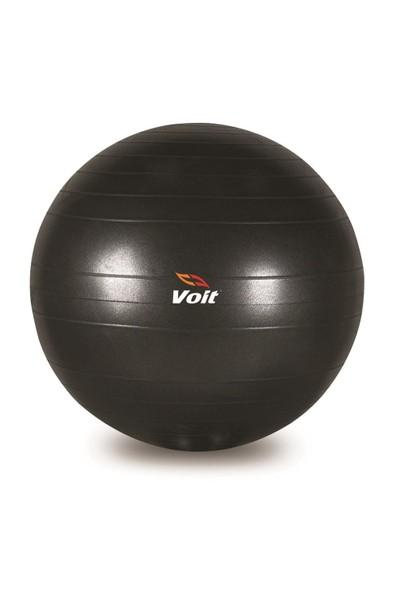 Voit Gymball 65 Cm Siyah Pompalı Pilates Topu V1vtkagym/65C-052-P