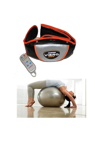 Cosfer Vibro Shape + 65 cm Pilates Topu ve Pompa Seti