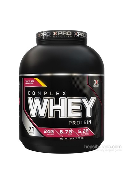 Xpro Whey Protein Tozu 2310Gr Muz Aromalı