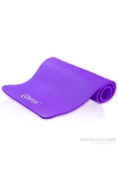 Cosfer 10 Mm (1Cm)Yoga Ve Pilates Minderi Mor
