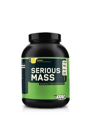 Optimum Nutrition Serious Mass Muz Aromalı 6lbs.(2727gr)