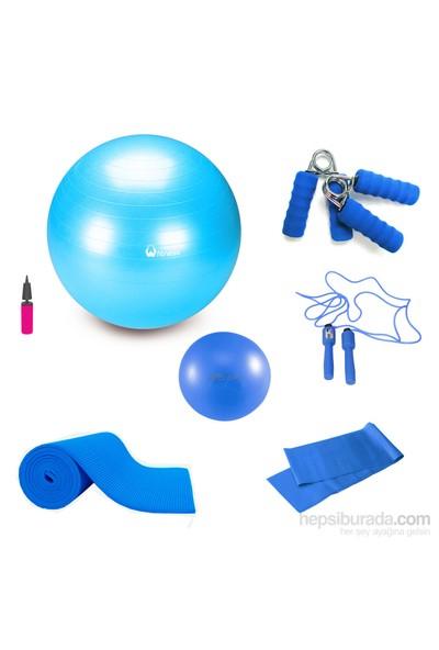 Tristar Pilates Basic Set Mavi