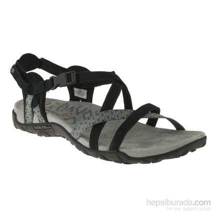 Merrell 266 J55314Z Siyah Kadın Sandalet