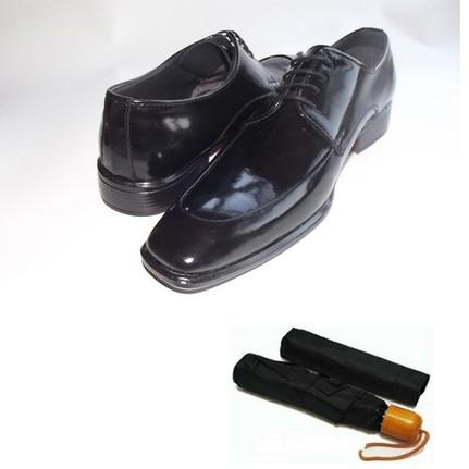 Klasik Erkek Kundura Ayakkabı + Şemsiye