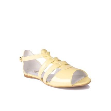 Loggalin 785001 031 120 Sarı Kadın Sandalet