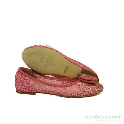 Punto 670040-03 39 Pembe Kadın Babet Ayakkabı