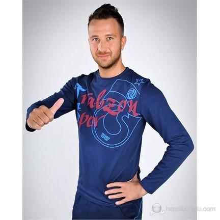 7ca6b4185b5ef Trabzonspor Bsk Uzun Kollu T-Shirt Afton Laci - L Fiyatı