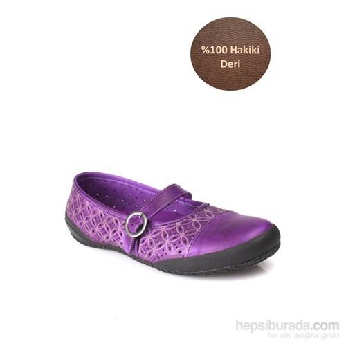 Loggalin Kadın Günlük Ayakkabı Eflatun