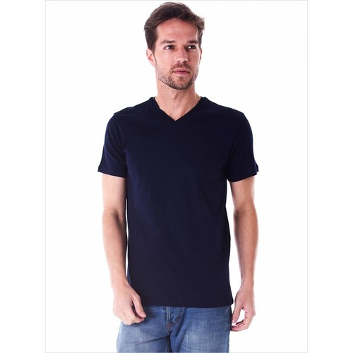 Ayyıldız 59483 Lacivert V Yaka Erkek T-Shirt