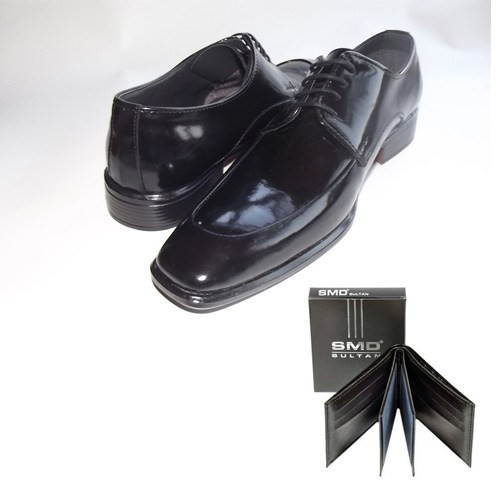 Klasik Erkek Kundura Ayakkabı + Cüzdan