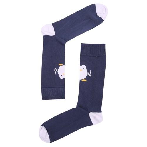 The Socks Company Hello Pen Desenli Erkek Çorap 41-45 Numara