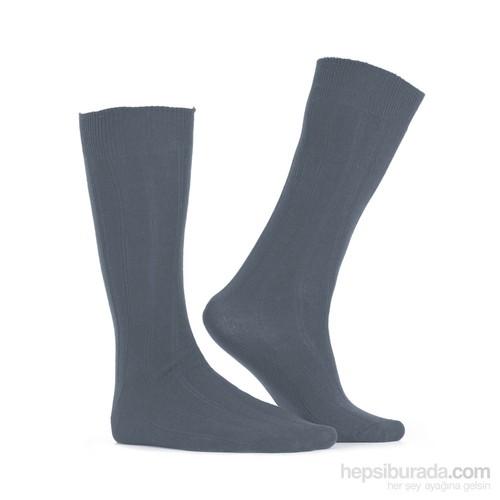 Miorre D&W Derby Lycra Erkek Çorap Gri