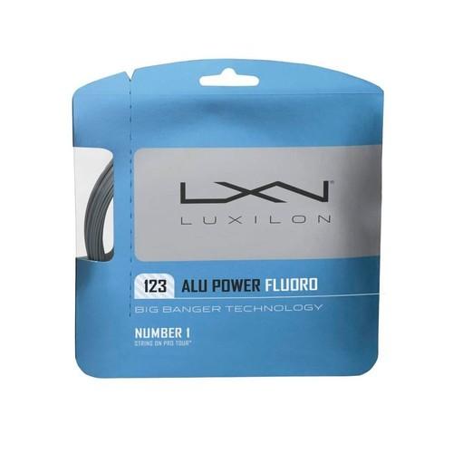 Luxılon Bb Alu Power Fluoro Gümüş 1.23/17 Ga Tekli Raket Kordajı