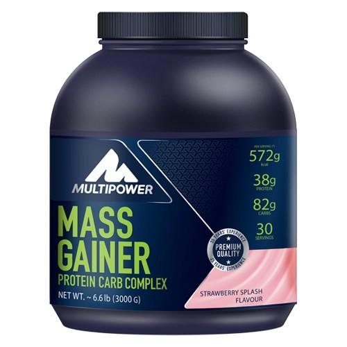 Multipower Mass Gainer Protein + Carb Complex Çilek Aromalı
