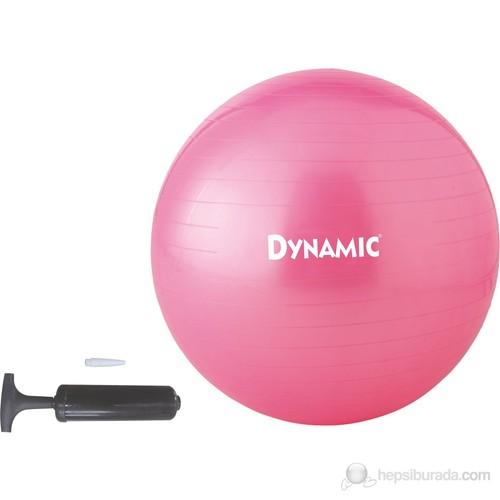 Dynamic Gymball 75 cm Pembe Pilates Topu Pompalı