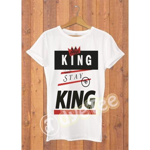 Dyetee King The Wire Erkek T-Shirt